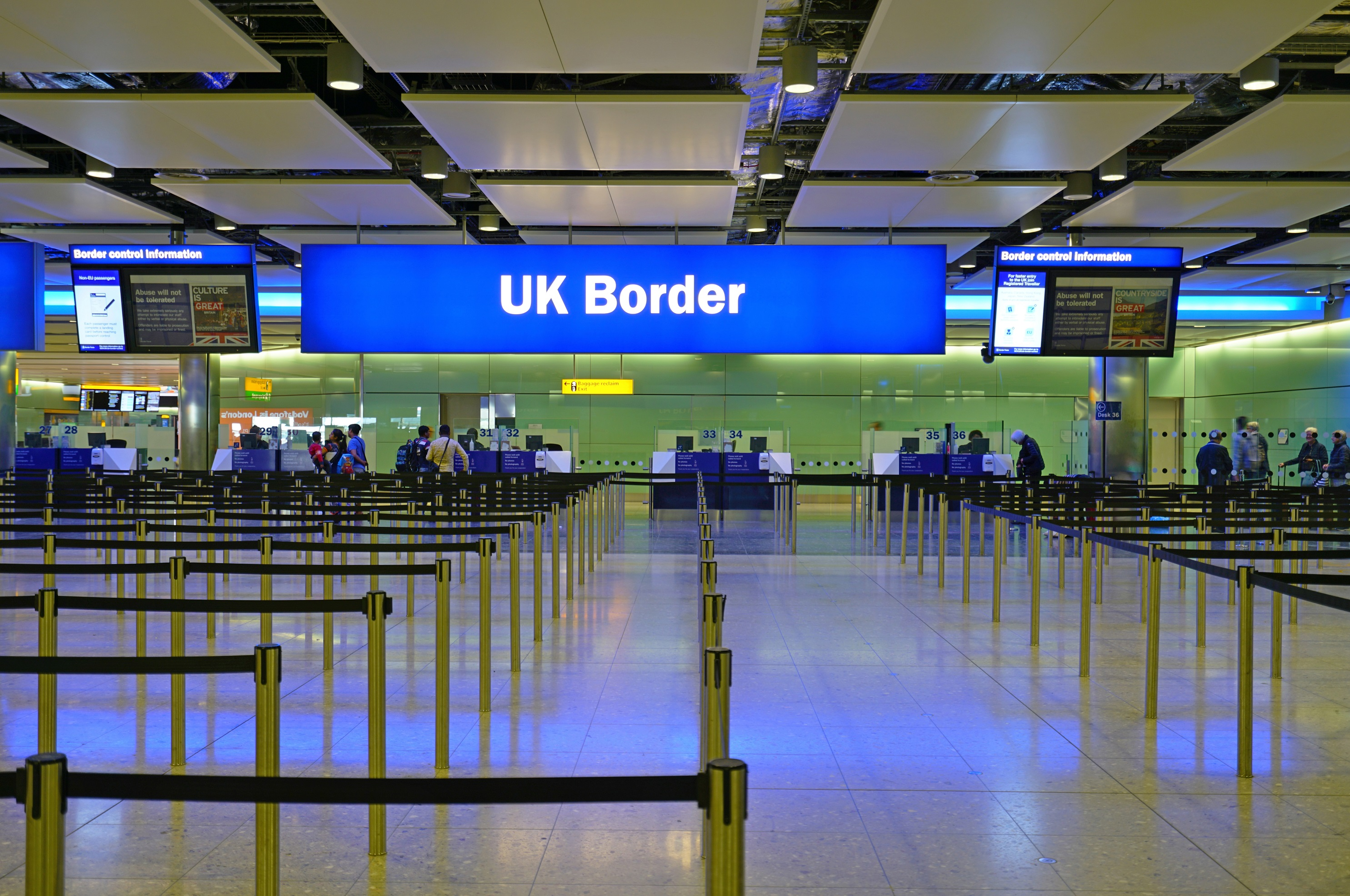 The border of the future: Visiting the UK in 2021