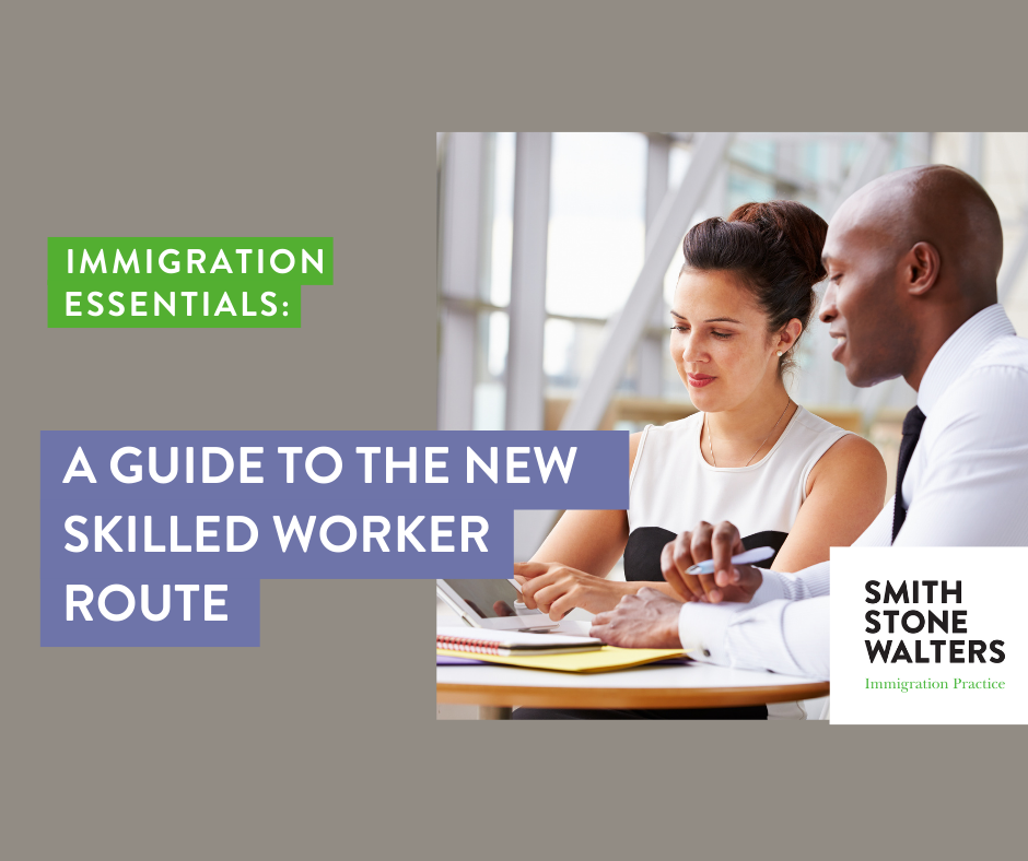 A Guide to the New Skilled Worker Route: Webinar